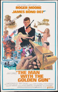 """Movie Posters:James Bond, The Man with the Golden Gun (United Artists, 1974). Folded, Very Good/Fine. Trimmed One Sheet (24"""" X 38"""") Robert McGinnis Ar..."""