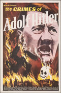 "Movie Posters:Documentary, The Crimes of Adolf Hitler (MGM, 1961). Flat Folded, Very Fine. One Sheet (27"" X 41""). Documentary.. ..."