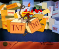 "Animation Art:Limited Edition Cel, ""A Tribute to Termite Terrace - Wile E. Coyote"" Beep, Beep Signed Limited Edition Cel #30/200 (Warner Brothers, 19... (Total: 3 Original Art)"