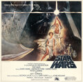 Movie Posters:Science Fiction, Star Wars (20th Century Fox, 1977). Very Fine+ on Linen.