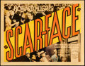 Movie Posters:Crime, Scarface (United Artists, 1932). Fine. Title Lobby...