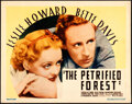 Movie Posters:Crime, The Petrified Forest (Warner Bros., 1936). Very Fine.