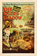 Movie Posters:Serial, The Tiger's Shadow (Pathé, 1928). Fine/Very Fine on Linen...