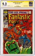 Silver Age (1956-1969):Superhero, Fantastic Four Annual #6 Signature Series: Stan Lee (Marvel, 1968) CGC NM- 9.2 Off-white to white pages....