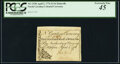 Colonial Notes:North Carolina, North Carolina April 2, 1776 $1/16 Butterfly Fr. NC-153b PCGS Extremely Fine 45.. ...