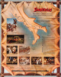"""Movie Posters:Action, Spartacus (Universal International, 1960). Folded, Very Fine. Promotional Poster (28"""" X 22""""). Action.. ..."""