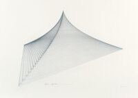 Agnes C. Denes (b. 1938) Pyramid, 1978 Lithograph on paper 29-1/2 x 41-1/2 inches (74.9 x 105.4 c