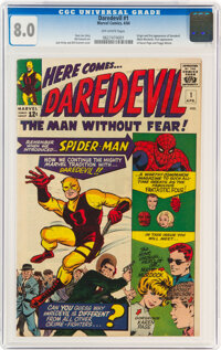 Daredevil #1 (Marvel, 1964) CGC VF 8.0 Off-white pages