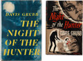 Books:Mystery & Detective Fiction, Davis Grubb. The Night of the Hunter. New York and London: Harper and Brothers; Hamish Hamilton, [1953-1954]. Includ... (Total: 2 Items)