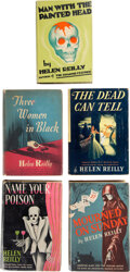 Books:Mystery & Detective Fiction, Helen Reilly. Group of Five Mystery Novels. New York: Random House; Farrar and Rinehart, [1931-1942]. First editions.... (Total: 5 Items)