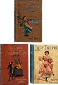 Books:Mystery & Detective Fiction, Henry Herman (pseudonym of Henry Heydrac D'Arco). Group of Three Novels. London: Various publishers, 1893-1897. First editio... (Total: 3 Items)