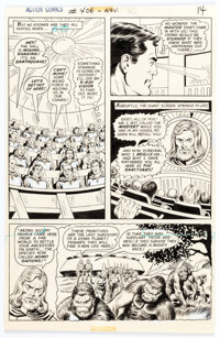 Curt Swan and Murphy Anderson Action Comics #406 Story Page 13 Original Art (DC, 1971)