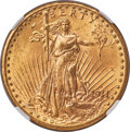 Saint-Gaudens Double Eagles, 1911-D $20 MS66 NGC. The 1911-D often exhibits satiny luster rather than the thick, frosted luster of many later dates in t...