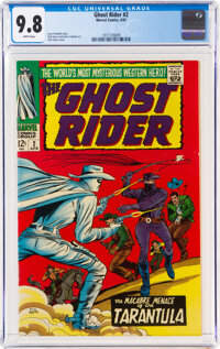 The Ghost Rider #2 (Marvel, 1967) CGC NM/MT 9.8 White pages