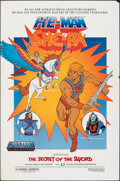 "Movie Posters:Animation, He-Man and She-Ra: The Secret of the Sword (Atlantic Releasing, 1985). Folded, Fine/Very Fine. One Sheet (27"" X 41""). Animat..."