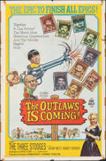 "Movie Posters:Comedy, The Outlaws is Coming (Columbia, 1965). Folded, Fine/Very Fine. One Sheet (27"" X 41""). Comedy.. ..."