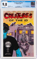Modern Age (1980-Present):Alternative/Underground, Creatures of the Id #1 (Caliber Press, 1990) CGC NM/MT 9.8 White pages....