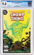 Modern Age (1980-Present):Horror, Saga of the Swamp Thing (see Swamp Thing 1982) #37 (DC, 1985) CGC VF/NM 9.0 White pages....
