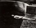 Photographs, Edward Weston (American, 1886-1958). Nude Floating, 1939. Gelatin silver, printed later by Cole Weston. 7-3/8 x 9-3/8 in...