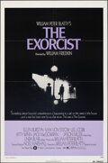 """Movie Posters:Horror, The Exorcist (Warner Bros., 1974). Folded, Very Fine. One Sheet (27"""" X 41""""). Horror.. ..."""
