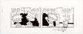 Original Comic Art:Comic Strip Art, Scott Roberts and Will Blyberg Rugrats Daily Comic Strip Original Art dated 12-05-02 (Creators Syndicate, 2002)....