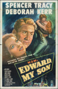 "Movie Posters:Drama, Edward, My Son (MGM, 1949). Folded, Fine+. One Sheet (27"" X 41""). Drama.. ..."