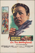 """Movie Posters:Academy Award Winners, On the Waterfront (Columbia, 1954). Folded, Fine/Very Fine. One Sheet (27"""" X 41""""). Academy Award Winners.. ..."""