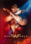 """Movie Posters:Action, Wonder Woman (Warner Bros., 2017). Rolled, Very Fine/Near Mint. Subway (48"""" X 70"""") SS Advance. Action.. ..."""