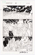 Original Comic Art, John Romita JR and Jimmy Palmiotti Ultimate Vision #0 Story Page 9 Original Art (Marvel, 2007)...
