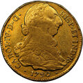 Colombia, Colombia: Charles IV gold 4 Escudos 1790 P-SF XF40 NGC,...