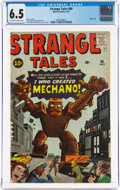 Silver Age (1956-1969):Adventure, Strange Tales #86 (Marvel, 1961) CGC FN+ 6.5 Off-white to white pages....