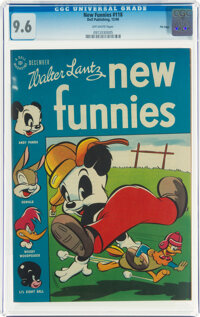 New Funnies #118 File Copy (Dell, 1946) CGC NM+ 9.6 Off-white pages