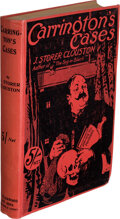 Books:Mystery & Detective Fiction, J. Storer Clouston. Carrington's Cases. Edinburgh: 1920. First edition. With an Autograph Letter Signed laid in....