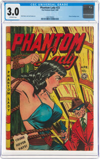 Phantom Lady #23 (Fox Features Syndicate, 1949) CGC GD/VG 3.0 Off-white pages