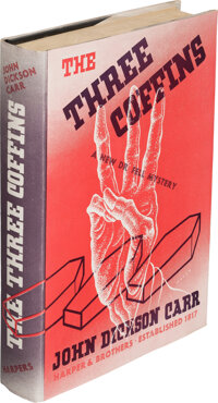 John Dickson Carr. The Three Coffins. New York: Harper & Brothers, Publishers, 1935. First edit