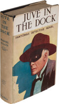 "Books:Mystery & Detective Fiction, Marcel Allain. Juve in the Dock. Philadelphia: David McKay Company, [1926]. First American edition of this ""Fantômas..."