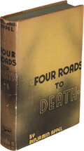 Books:Mystery & Detective Fiction, Benjamin Appel. Four Roads to Death. New York: Alfred A. Knopf, 1935. First edition....
