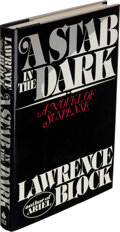 Books:Mystery & Detective Fiction, Lawrence Block. A Stab in the Dark. New York: Arbor House, [1981]. First edition. Presentation copy, inscribed to ...