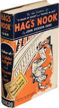 Books:Mystery & Detective Fiction, John Dickson Carr. Hag's Nook. New York: Harper & Brothers, 1933. First edition. ...