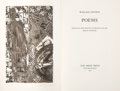 Books:Art & Architecture, [Jasper Johns, illustrator]. Wallace Stevens. Poems. Selected and with an Introduction by Helen Vendler. San...