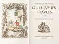 Books:Literature 1900-up, [Rex Whistler, illustrator]. Jonathan Swift. Gulliver's Travels. Illustrated by Rex Whistler. London: The Cresse... (Total: 2 Items)