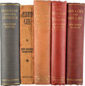 Books:Mystery & Detective Fiction, Richard Marsh. Group of Five Edwardian Crime Novels. London: Methuen & Co.; Chatto and Windus, 1905-1915. First editions. ... (Total: 5 Items)