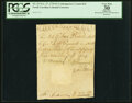Colonial Notes:North Carolina, North Carolina November 27, 1729 3 Pounds Handwritten Contemporary Counterfeit Fr. NC-33 PCGS Apparent Very Fine 30.. ...