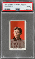 Baseball Cards:Singles (Pre-1930), 1909-11 T206 Sweet Caporal 150/30 Lou Criger Mint 9 - Overall, Pop One, None Higher!...