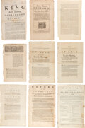 Books:Religion & Theology, [Quakers]. Collection of 44 printed broadsides and pamphlets regarding the Religious Society of Friends, originating from the ... (Total: 45 )