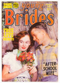 Golden Age (1938-1955):Romance, Young Brides #8 (Prize, 1953) Condition: FN....