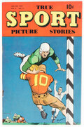 Golden Age (1938-1955):Non-Fiction, True Sport Picture Stories V4#11 (Street & Smith, 1949) Condition: VF-....