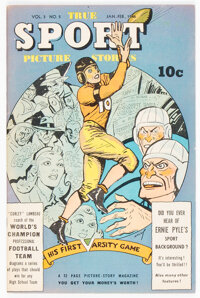 True Sport Picture Stories V3#5 (Street & Smith, 1946) Condition: VF