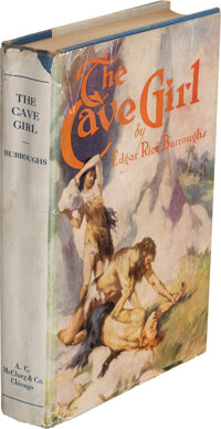 Edgar Rice Burroughs. The Cave Girl. Chicago: A. C. McClurg & Co., 1925. First edition