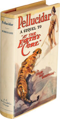 """Books:Science Fiction & Fantasy, Edgar Rice Burroughs. Pellucidar. A sequel to """"At the Earth's Core"""" relating the further adventures of David Innes..."""